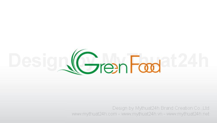 Thiết kế logo Green Food
