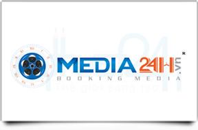 Thiết kế logo Công ty TNHH MEDIA24H