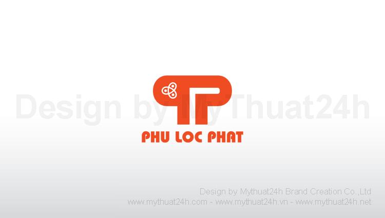 Thiết kế logo Cty Cổ Phần Kỹ Thuật Công Nhệ Phú Lộc Phát