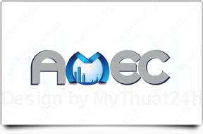 Thiết kế logo Công ty cổ phần đâu tư thương mại AMEC