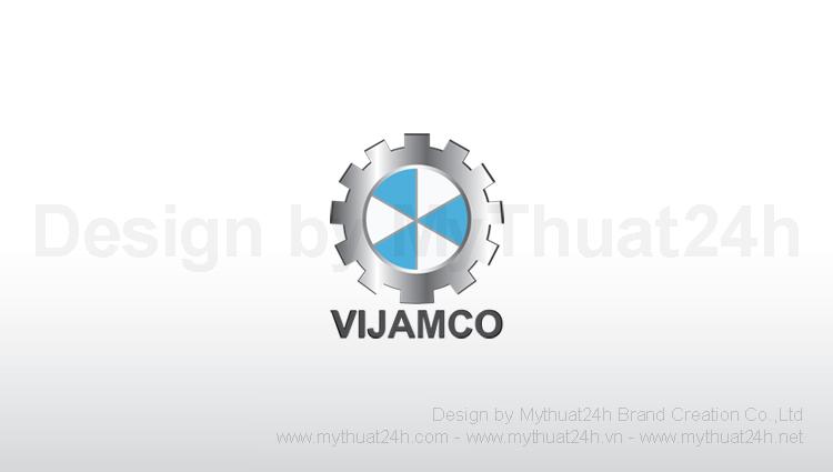 Thiết kế logo Cty Cổ Phần Thiết Bị Cẩu Trục Việt Nhật