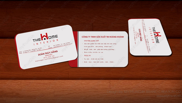 Name card thehome