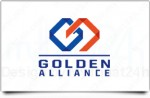 Thiết kế logo Golden Alliance International