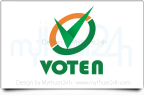 Thit k logo Voten