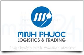 Thiết kế logo cho CTY THƯƠNG MẠI QUỐC TẾ MINH PHƯỚC