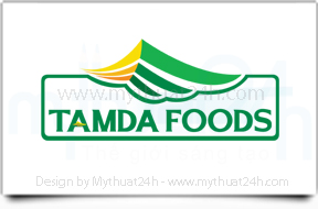 Thiết kế logo TAMDA FOODS