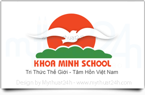 Thit k logo Khoa Minh School