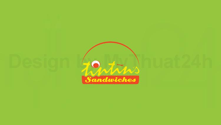 Thiết kế logo thương hiệu Tintin's Sandwiches
