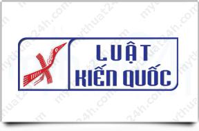 Thiết kế logo Công ty Luật Kiến Quốc