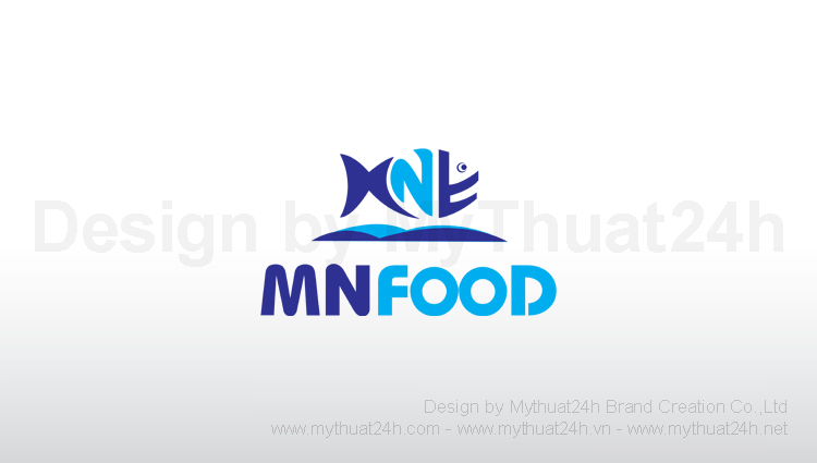 Thiet ke logo Mnfood