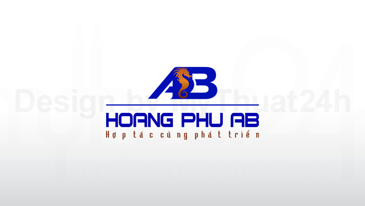 Thiet ke logo Hoang Phu AB