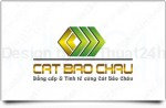 Thiet ke logo cong ty Cat bao chau
