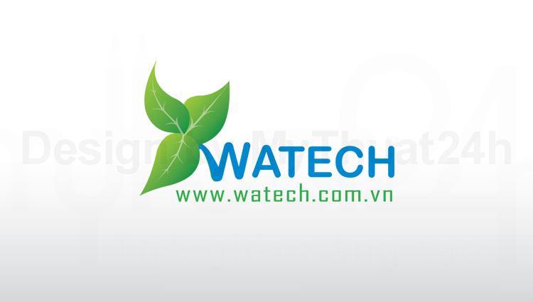 Thiết kế logo Watech