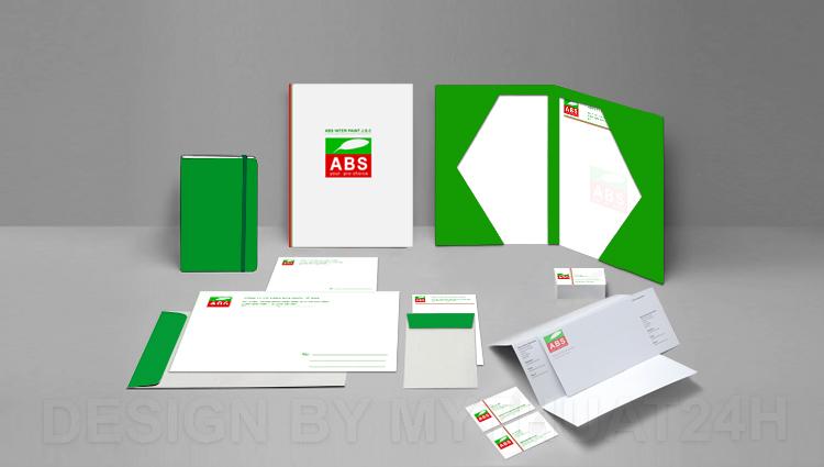 Nhận diện thương hiệu công ty cp sơn quốc tế ABS