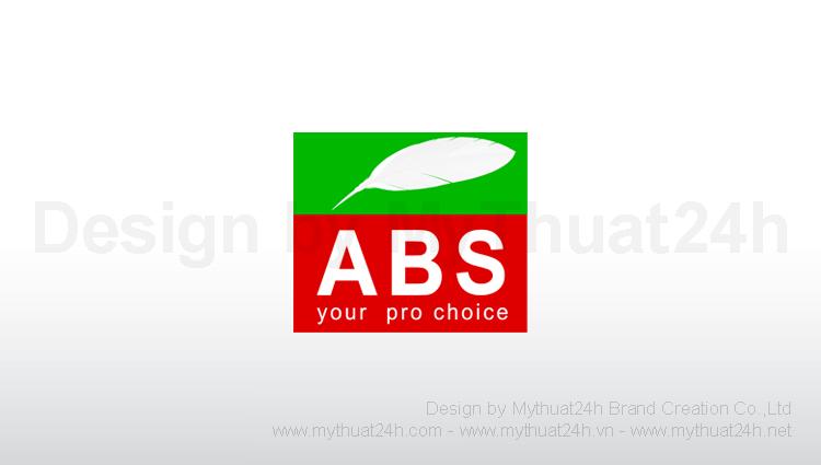 Thiết kế logo công ty cp sơn quốc tế ABS