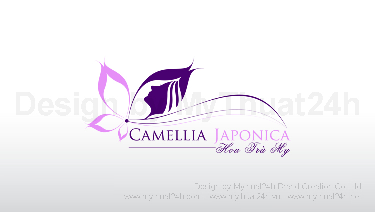 Thiết kế logo Camellia Japonica Spa & Nails