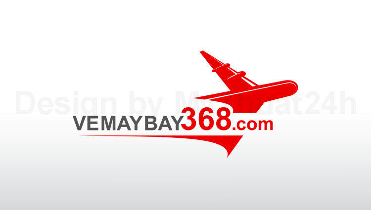Thiet ke logo vemaybay368