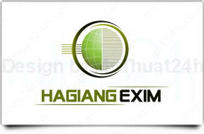 Thit k logo HAGIANG EXIM