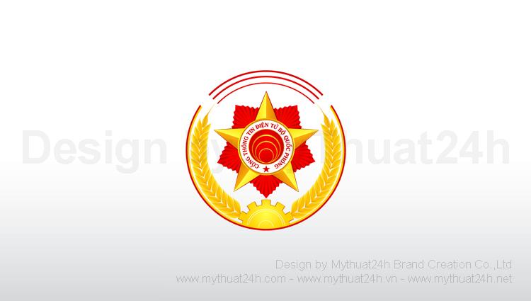 Thiết kế logo Cổng thông tin điện tử – Bộ Quốc Phòng