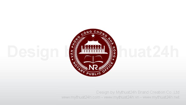 Thiết kế logo Văn phòng công chứng Nhà Rồng