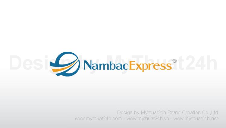 Thiết kế logo công ty chuyển phát nhanh NambacExpress
