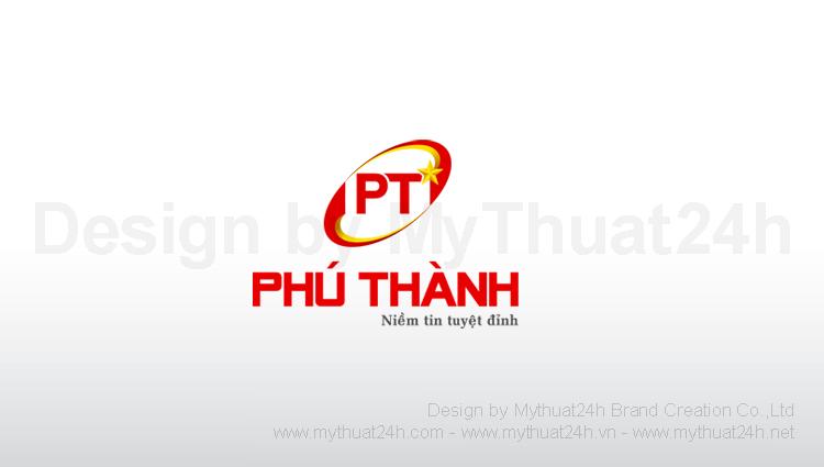 Thiết kế logo CÔNG TY TNHH TM SX XNK XÂY DỰNG PHÚ THÀNH