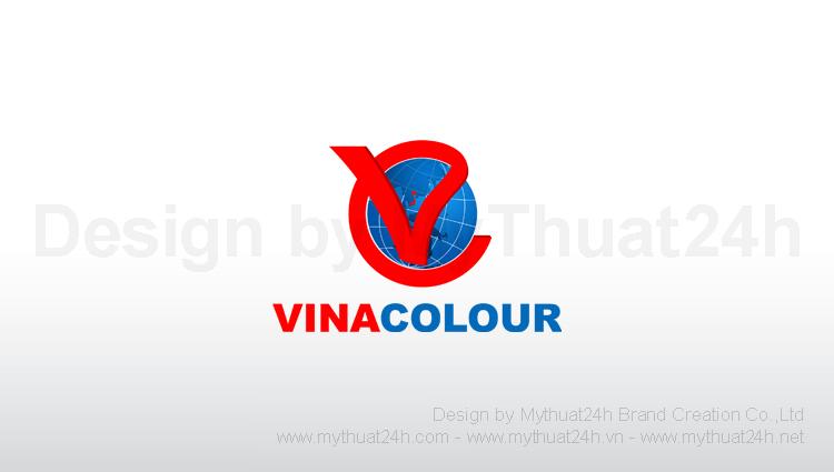 Thiết kế logo Công ty Sắc Màu Việt Nam