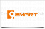 Thiet ke logo 9emart