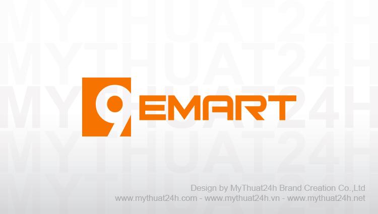 Thiet ke logo công ty 9emart