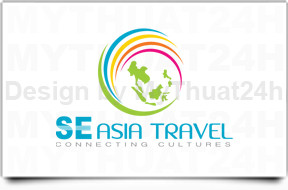 Thit k logo SOUTHEAST ASIA TRAVEL
