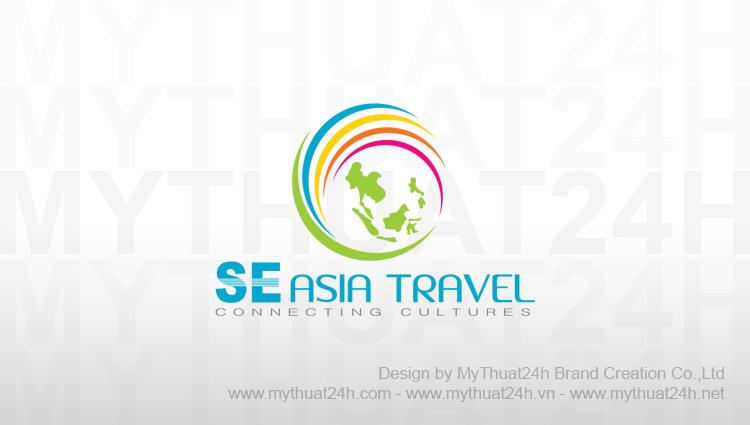 Thiết kế logo SOUTHEAST ASIA TRAVEL