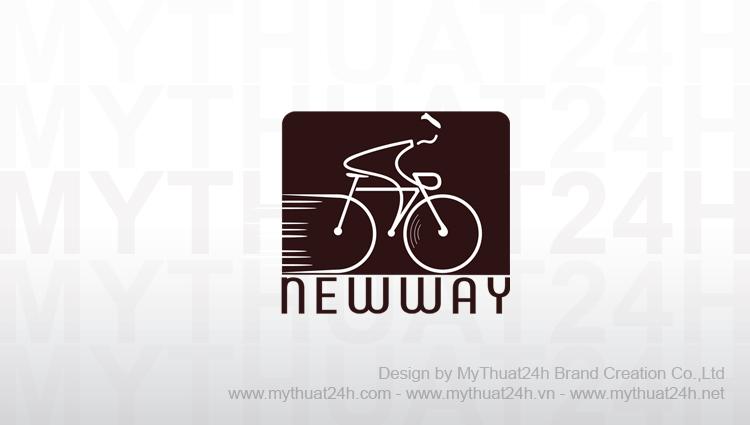 Thiết kế logo xe đạp Newway
