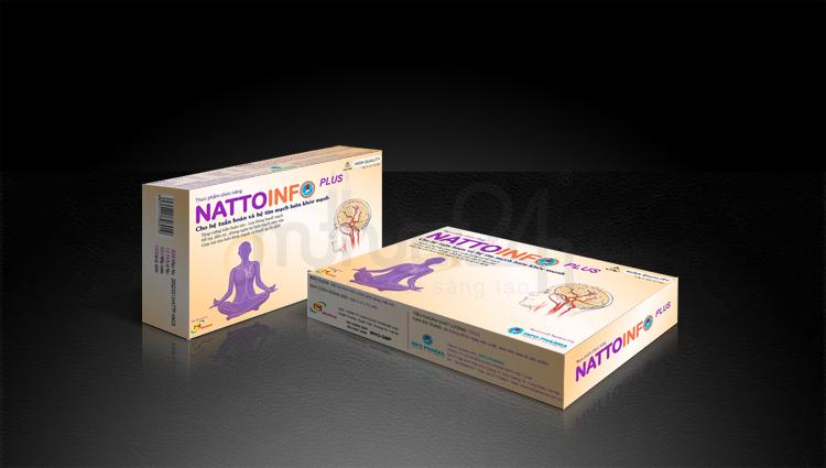 Thiết kế bao bì dược NattoInfo