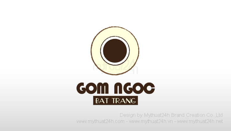 Thiết kế logo Gốm Ngọc Bát Tràng