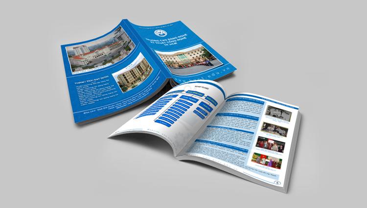 Thiết kế catalogue Trường CĐ Nghề Kỹ Thuật Công Nghệ TP. HCM