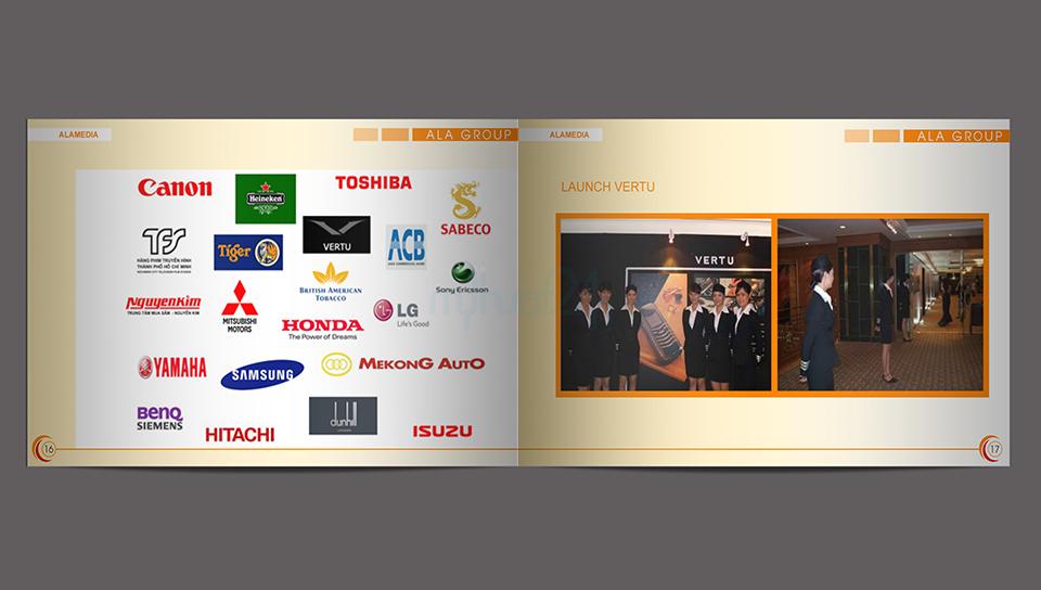 Thiết kế profile ALA Group