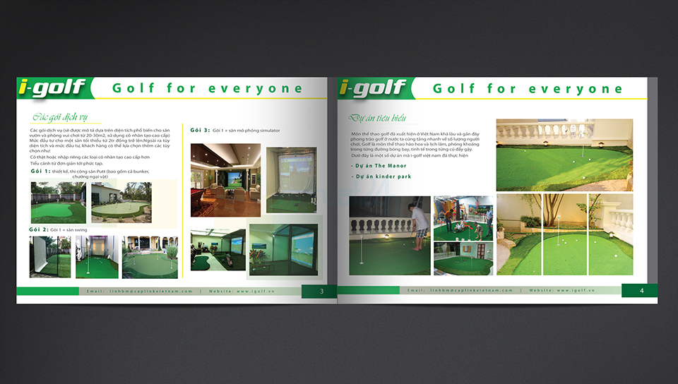 Thiết kế profile I-Golf