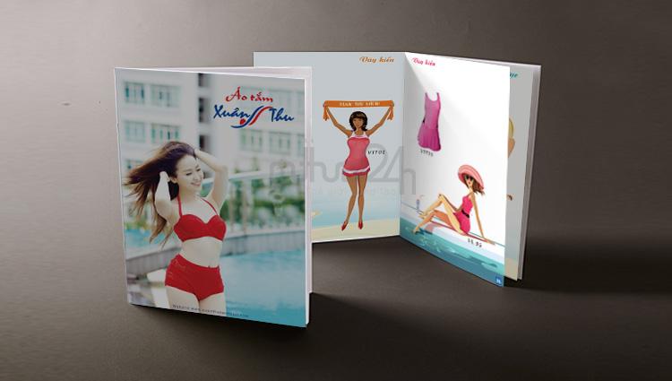 Thiết kế catalogue áo tắm Xuân Thu