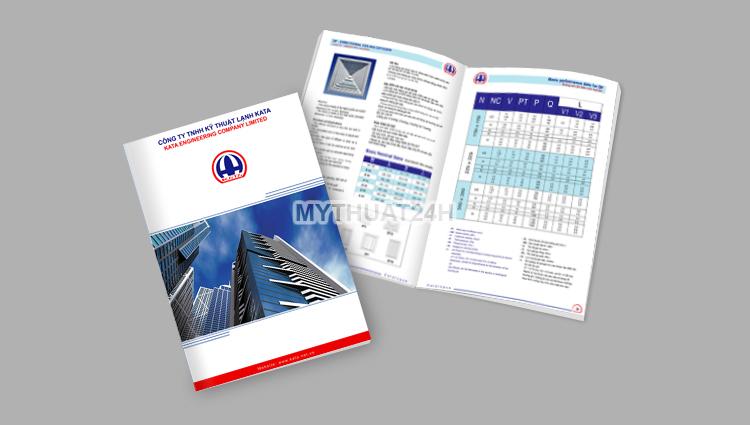 Thiết kế catalogue công ty kata