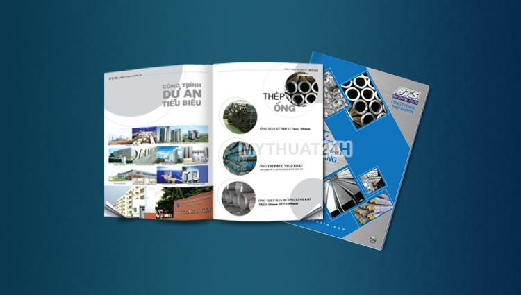 Thiết kế catalogue Công ty TNHH Thép Bảo Tín