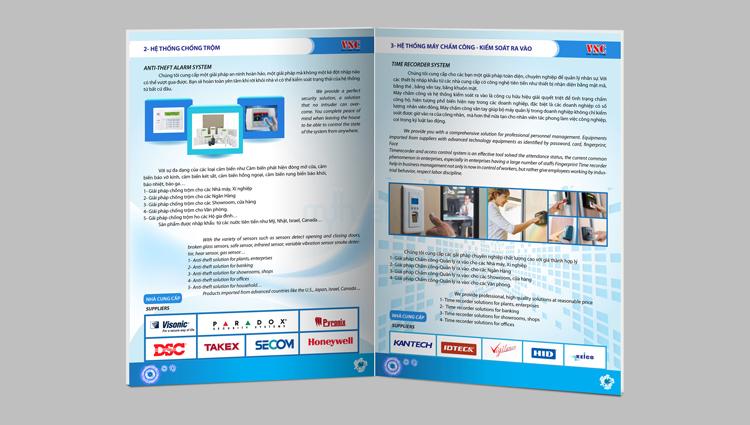Thiết kế profile công ty Việt Sun