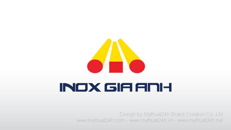 Thiet ke logo Inox Gia Anh