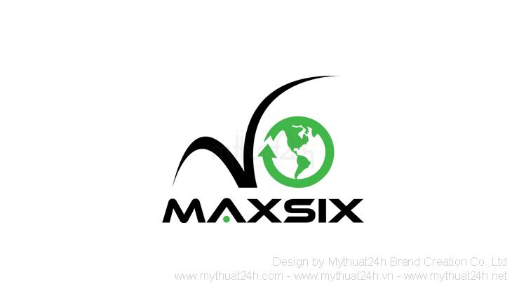 Thiết kế logo Công ty CP Phát Triển TM và DV Maxsix