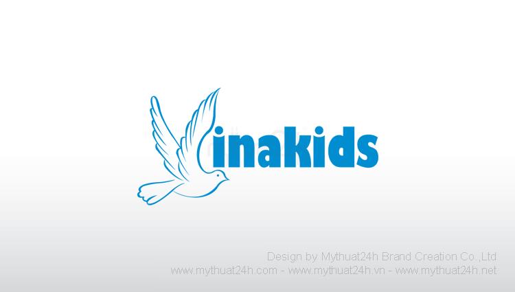 Thiet ke logo trung tam tieng anh Vinakids