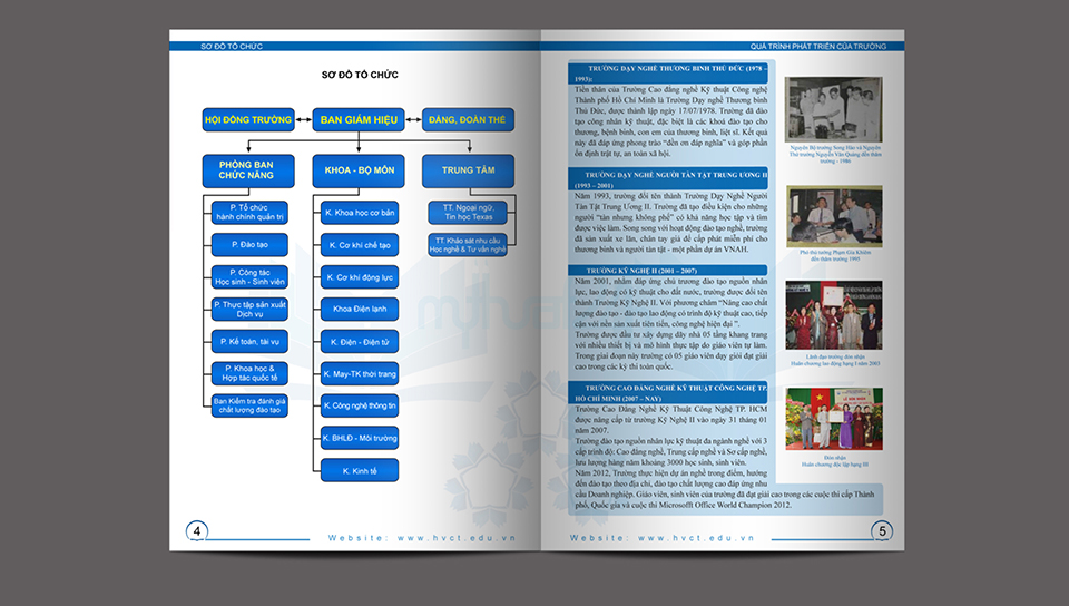 Thiet ke Catalogue Cao Dang Nghe Ky Thuat Cong Nghe HCM 2