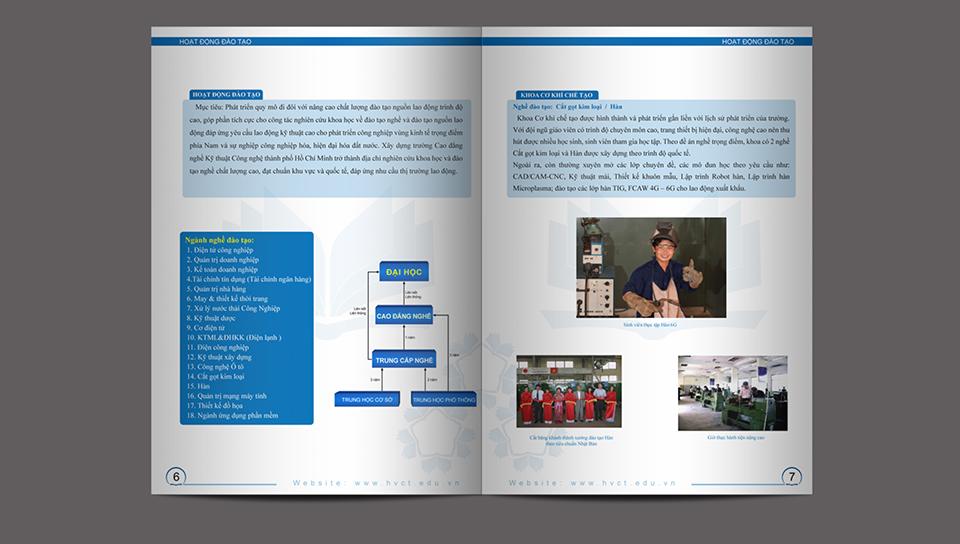 Thiet ke Catalogue Cao Dang Nghe Ky Thuat Cong Nghe HCM 3