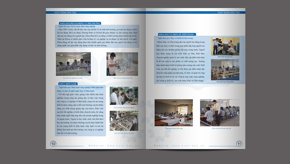 Thiet ke Catalogue Cao Dang Nghe Ky Thuat Cong Nghe HCM 5