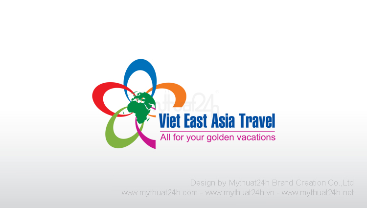 Thiết kế logo Công ty TNHH Du Lịch Việt Đông Á