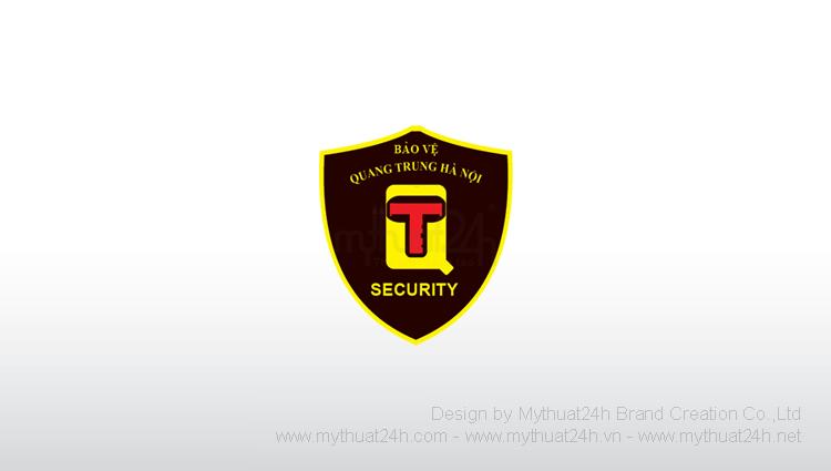 Thiết kế logo Công ty Cổ phần Dịch vụ Bảo vệ Quang Trung