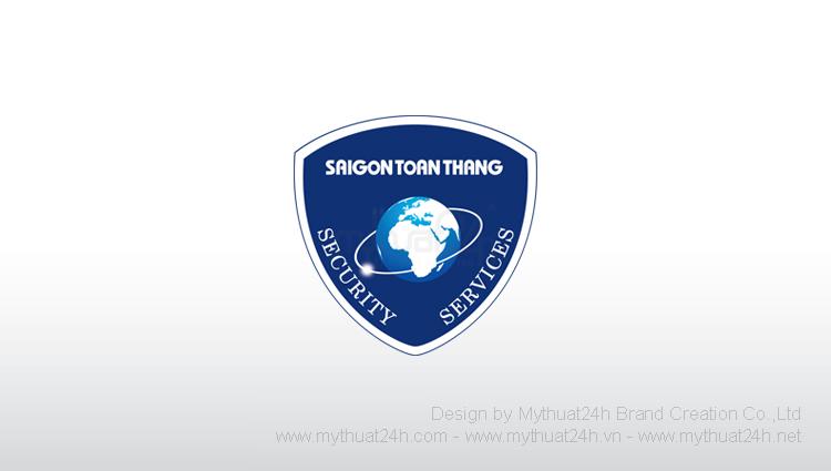 Thiết kế logo Công ty TNHH Dịch Vụ Bảo vệ Sài Gòn Toàn Thắng